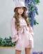 Летний костюм для девочки Wellkids, цвет бежевый 0