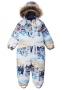 Зимний детский комбинезон Lassie by Reima Nyuka 710752, цвет 0101 0