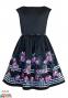 Нарядное платье Sly 25/J/18, цвет черный 0