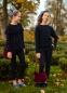 Школьный свитер для девочки Sly 501A/S/19 цвет черный 1