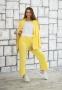 Трикотажный костюм для девочки Filatova, цвет желтый 3