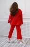 Трикотажный костюм для девочки Filatova, цвет красный 2