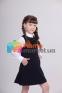 Школьное платье Lukas 4208, цвет черный 1