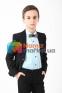 Классический школьный костюм для мальчика Lilus 217/2/16/1409, цвет черный 3