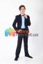 Классический школьный костюм для мальчика Lilus 217/2/13/2348, цвет синий 4