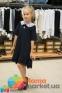 Школьное платье MONE 1618-2 с кружевным воротничком, цвет синий 4