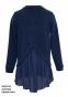 Школьный свитер для девочки Sly 503/S/19 цвет синий 3