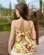 Летний льняной комбинезон для девочки Lukas 0167, цвет желтый 0
