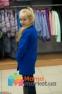 Кашемировое пальто для девочки Suzie Жанна, цвет электрик 2