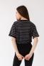 Летняя футболка девочки Suzie Бриджит, цвет черный 1