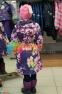 Пальто демисезонное для девочки Huppa LUISA 12430010, цвет 91373 5