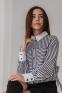 Рубашка для девочки Suzie Ксавира, цвет черно-белый 0