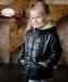 Демисезонная курточка для мальчика Baby Angel 765 цвет черный 0
