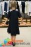 Школьное платье MONE 1618-2 с кружевным воротничком, цвет синий 8