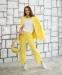 Трикотажный костюм для девочки Filatova, цвет желтый 1