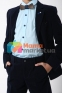 Вельветовый костюм для мальчика Lilus модель 10, цвет синий 7