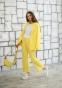 Трикотажный костюм для девочки Filatova, цвет желтый 2