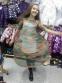 Платье из евросетки и трикотажа Mone 1713-1 5