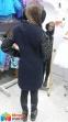 Стильное кашемировое пальто для девочки Baby Angel 698, цвет темно-синий 6