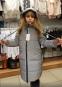 Зимнее пальто из светоотражающей ткани Baby Angel, цвет серебро 2