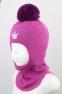 Зимняя шапка-шлем для девочки Ruddy 2210, цвет сиреневый 0