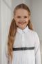 Школьная блузка для девочки Suzie Жужанна, цвет белый 2