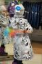 Пальто демисезонное для девочки Huppa LUISA 12430010, цвет 91348 6