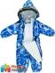 Kомбинезон зимний для мальчика HUPPA REGGIE 1, цвет blue pattern 82735 1