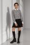 Рубашка для девочки Suzie Ксавира, цвет черно-белый 3