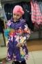 Пальто демисезонное для девочки Huppa LUISA 12430010, цвет 91373 3