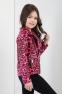Осенне-весенняя курточка-косуха для девочки Suzie Дилана, цвет малиновый 0