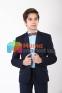 Классический школьный костюм для мальчика Lilus 217/2/13/2348, цвет синий 3