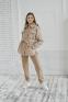 Стеганная куртка-рубашка Filatova, цвет кофейный 3