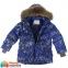 Куртка-пуховик зимняя для мальчика Huppa MOODY 1, цвет blue pattern 73235 1
