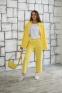 Трикотажный костюм для девочки Filatova, цвет желтый 5
