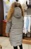 Зимнее пальто из светоотражающей ткани Baby Angel, цвет серебро 1