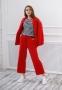 Трикотажный костюм для девочки Filatova, цвет красный 4