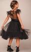 Нарядный летний топ Baby Angel 1234, цвет черный 0