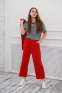 Трикотажный костюм для девочки Filatova, цвет красный 6
