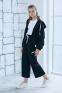Трикотажный костюм для девочки Filatova, цвет черный 1