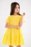 Летнее платье для девочки Suzie Ами, цвет желтый 2