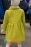 Кашемировое пальто для девочки Suzie Изольда, цвет горчичный 3