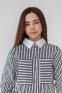 Рубашка для девочки Suzie Ксавира, цвет черно-белый 1