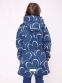 Курточка-парка для девочки Joiks EW-38, цвет синий 2