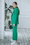 Деловой подростковый костюм-двойка Filatova, цвет зеленое яблоко 2