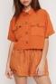 Летний костюм для девочек Suzie Медина, цвет горчичный 3