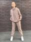 Трикотажный спортивный костюм для девочки Filatova Губки, цвет пудра 0
