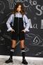 Школьный комбинезон для девочки Baby angel 1289, цвет черный 2