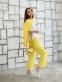 Трикотажный костюм для девочки Filatova, цвет желтый 0