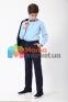 Классический школьный костюм для мальчика Lilus 217/2/13/2348, цвет синий 6